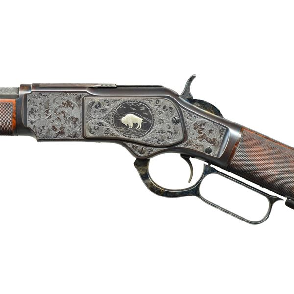 WINCHESTER 1873 CUSTOM ENGRAVED LEVER ACTION