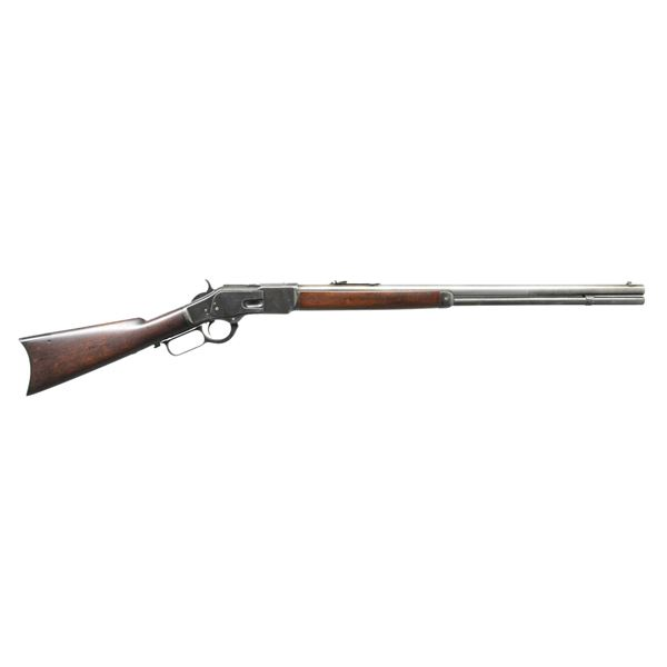 WINCHESTER 1873 SECOND MODEL LEVER ACTION RIFLE.