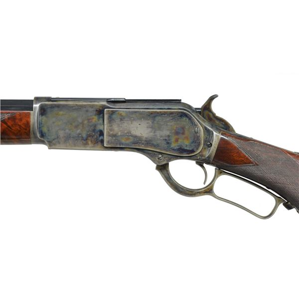 SPECIAL ORDER DELUXE 1876 WINCHESTER RIFLE IN