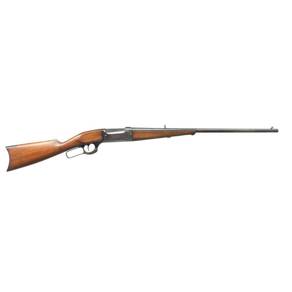 SAVAGE MODEL 1899-A TAKEDOWN LEVER ACTION RIFLE.