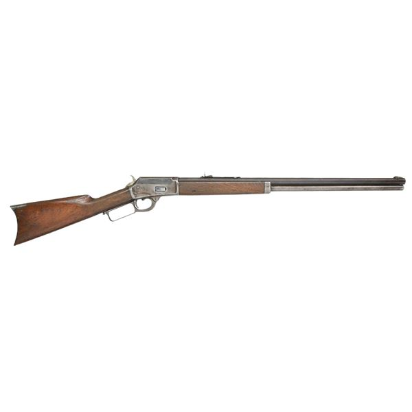 MARLIN 1889 LEVER ACTION RIFLE.