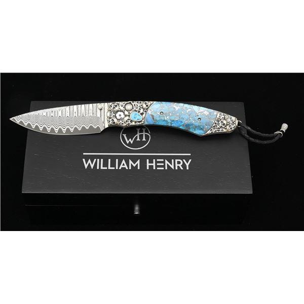 WILLIAM HENRY B12 JEROME BOXED FOLDING KNIFE.
