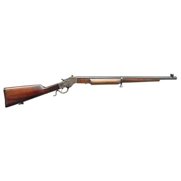 STEVENS ARMORY MODEL 414 SINGLE SHOT RIFLE.