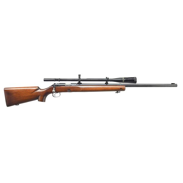 WINCHESTER MODEL 52B BOLT ACTION TARGET RIFLE.
