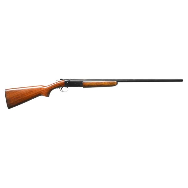2 WINCHESTER MODEL 37 STEELBILT SINGLE SHOTGUNS.