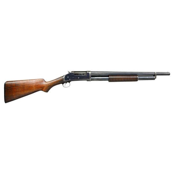 WINCHESTER 1897 PUMP SHOTGUN.