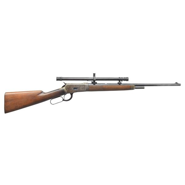 WINCHESTER MODEL 53 TAKEDOWN LEVER ACTION RIFLE.