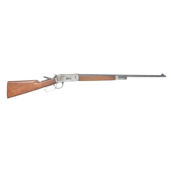 WINCHESTER MODEL 55 TAKEDOWN LEVER ACTION RIFLE.