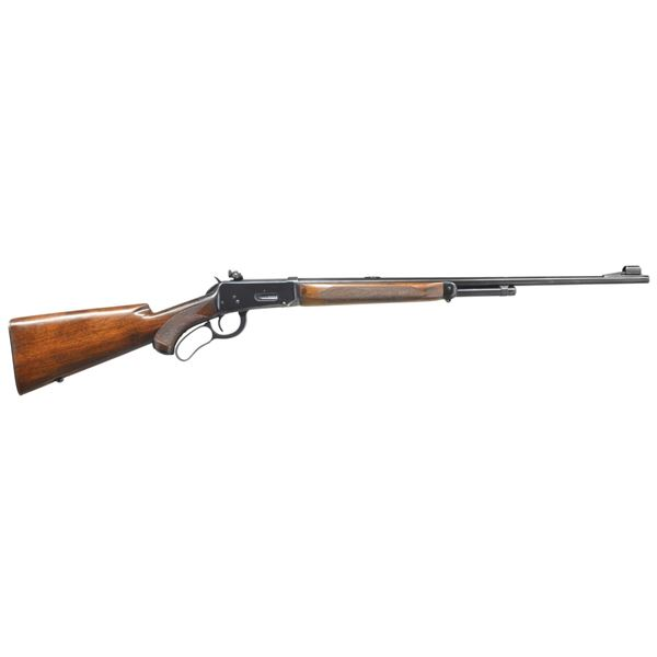 WINCHESTER MODEL 64 DELUXE LEVER ACTION RIFLE.