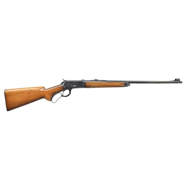 WINCHESTER MODEL 65 LEVER ACTION RIFLE.