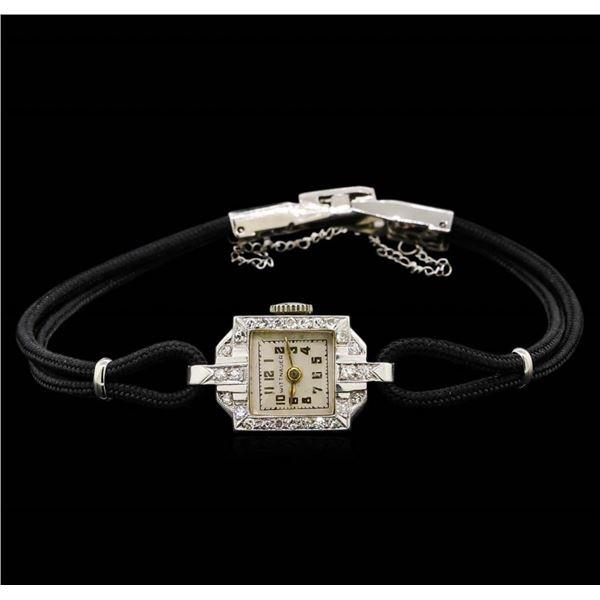 Vintage Wittnauer Diamond Ladies Watch