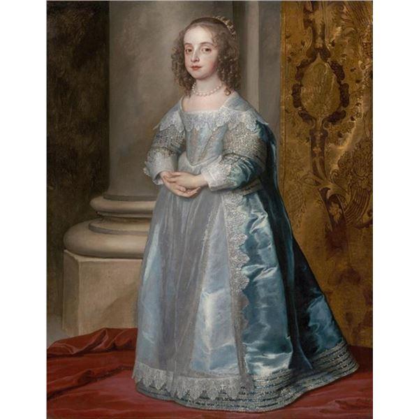 Van Dyck - Princess Mary, Daughter of Charles I