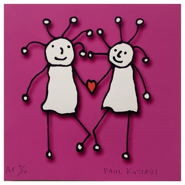 SPRKL Love (Magenta) by Kostabi, Paul