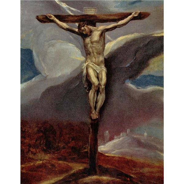 El Greco - Christ at the Cross [2]