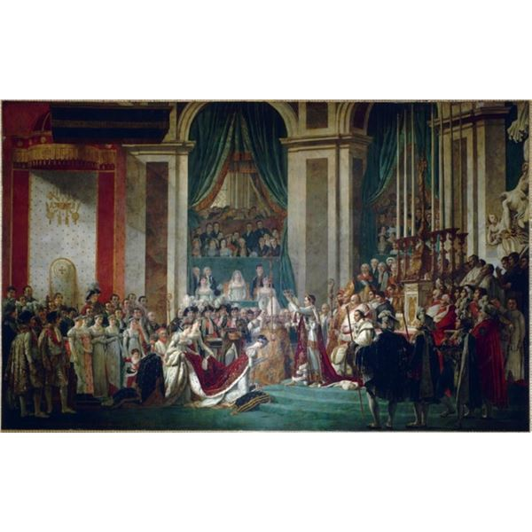 Jacques-Louis David - Coronation of Napoleon and Josephine