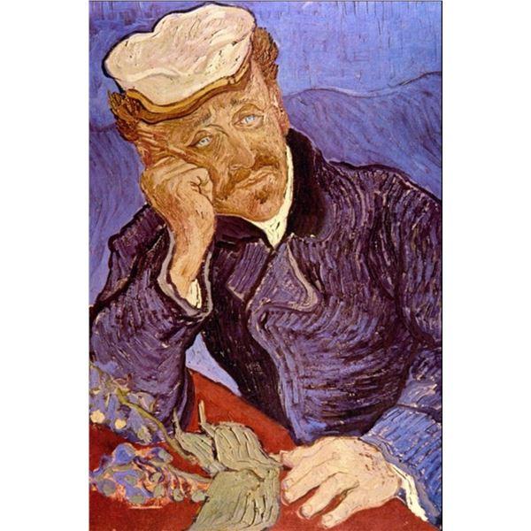 Van Gogh - Portrait Of Dr Gachet