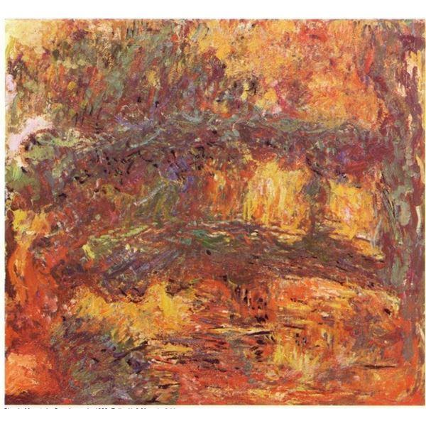 Claude Monet - Le Pont Japonais 1922