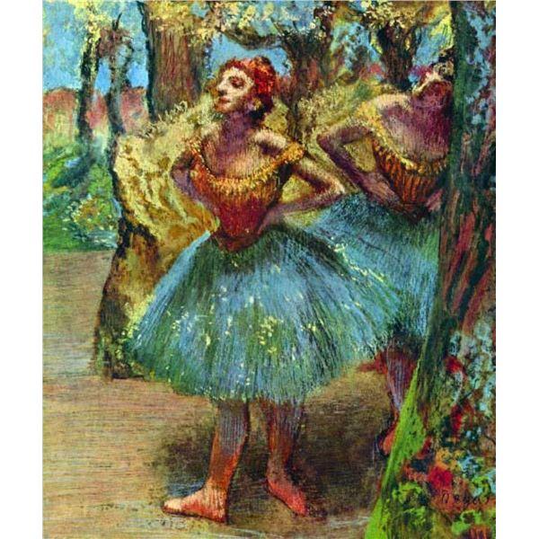 Edgar Degas - Dancers #2