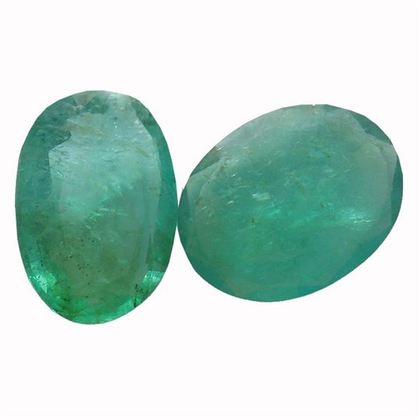 4.5 ctw Oval Mixed Emerald Parcel
