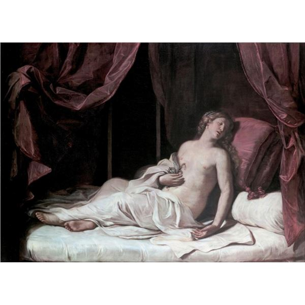 Guercino - Death of Cleopatra
