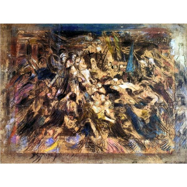 Henry de Groux - The Mocking of Christ