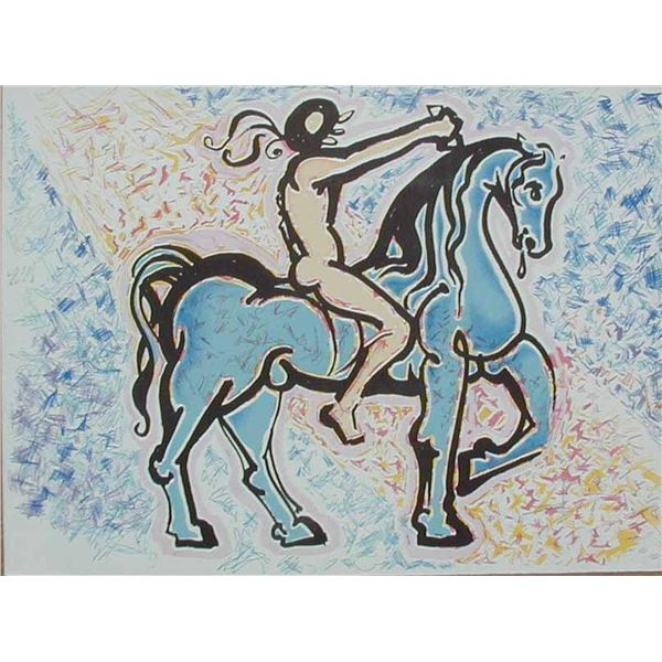 "Salvador Dali ""Victory of Primitive Man"""