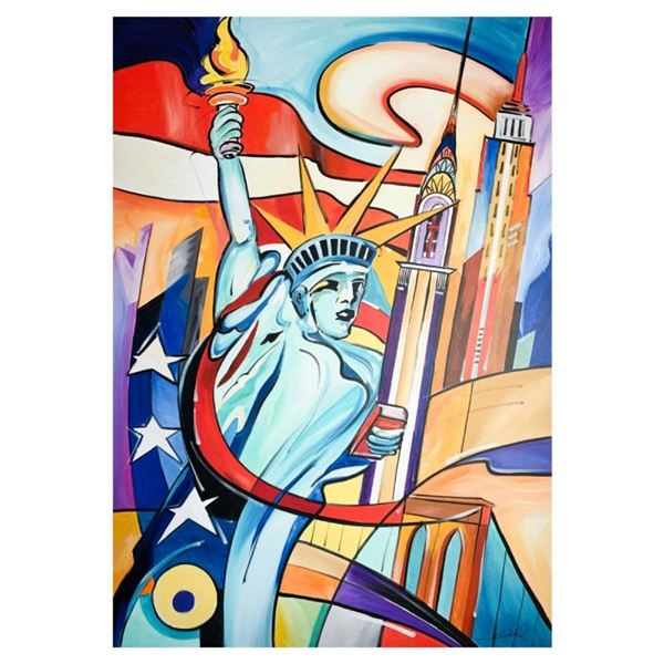 Flame of NY by Gockel, Alfred Alexander