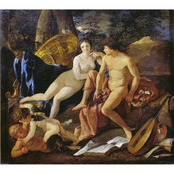 Nicolas Poussin - Venus and Mercury