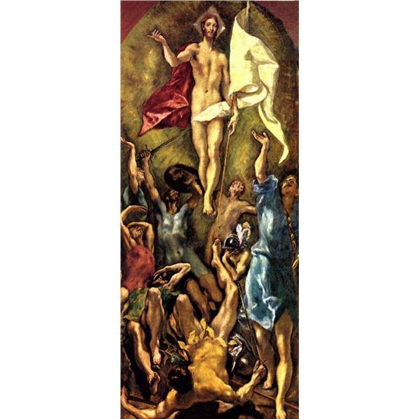 El Greco - Christ Awakening