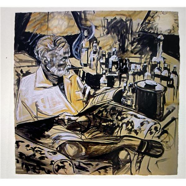 """Michael Bryan """"Hemingway in Cuba"""""""