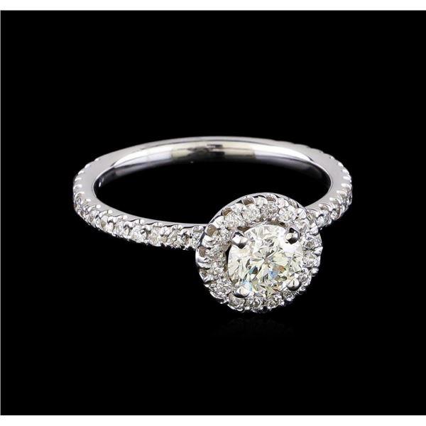 1.15 ctw Diamond Ring - 14KT White Gold