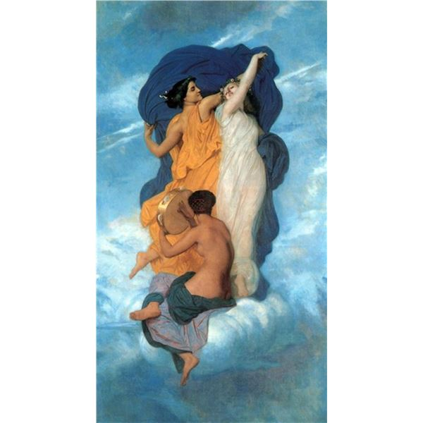 William Bouguereau - The Dance