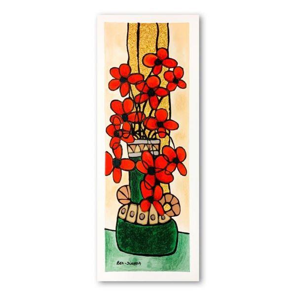 Green Vase by Ben-Simhon, Avi