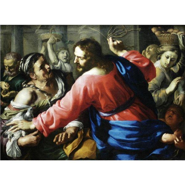 Bernardino Mei - Cleansing the Temple