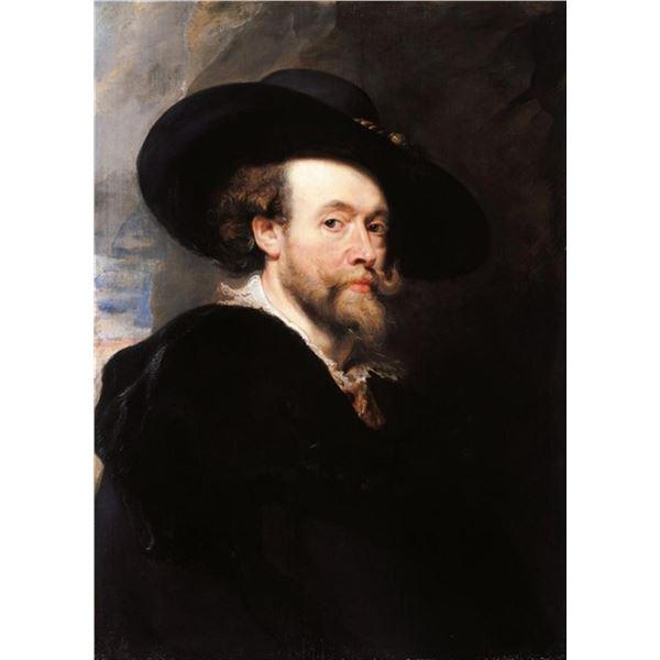 Sir Peter Paul Rubens - Portrait of the Artist