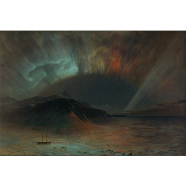 Frederic Edwin Church - Aurora Borealis