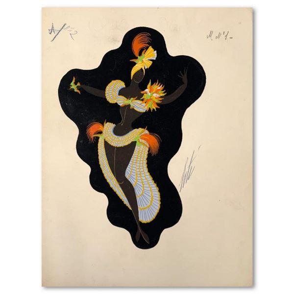 Les poules de luxe by Erte (1892-1990)
