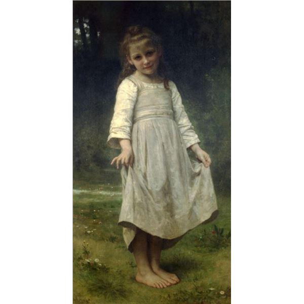 William Bouguereau - The Curtsey