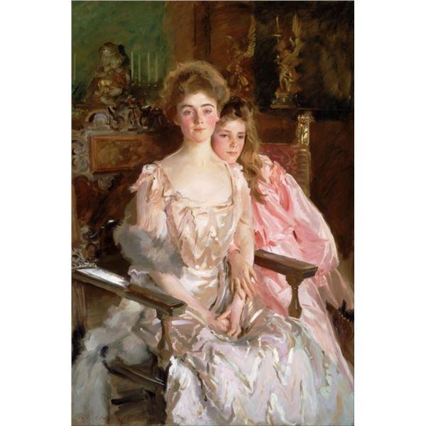 Sargent - Mrs. Fiske Warren and Daughter