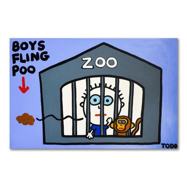 Boys Fling Poo by Goldman Original