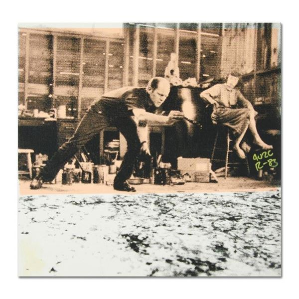 "Jackson Pollock at Work by ""Ringo"" Daniel Funes"