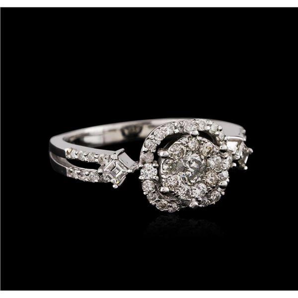 14KT White Gold 0.44 ctw Diamond Ring