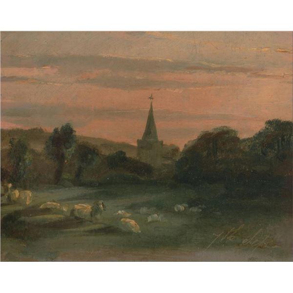 Thomas Churchyard - A Church