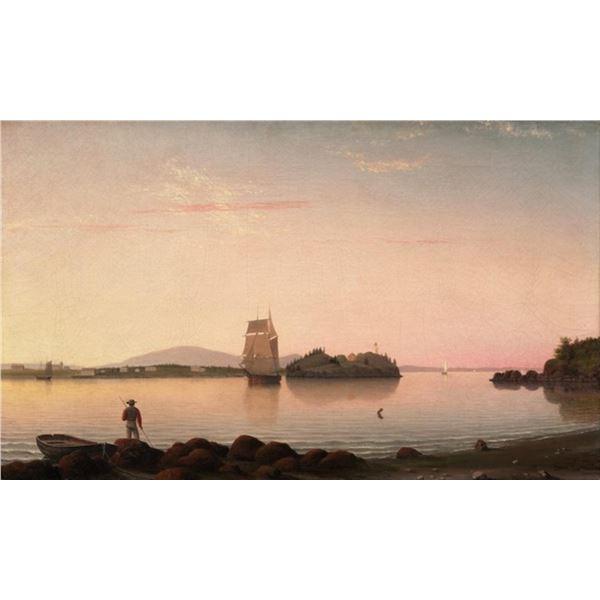Fitz Henry Lane - Owls Head, Penobscot Bay Maine