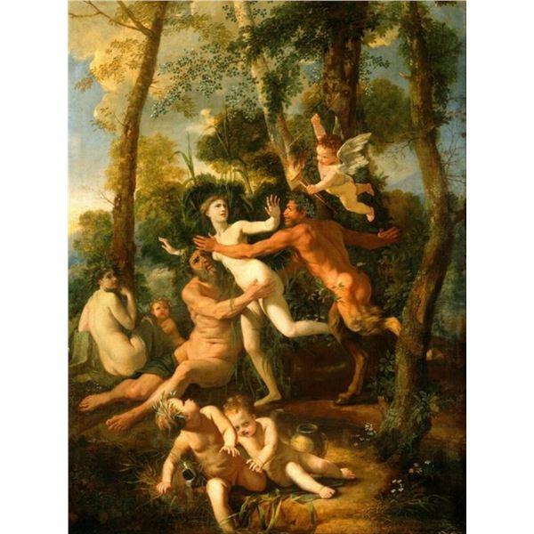 Nicolas Poussin - Pan and Syrinx