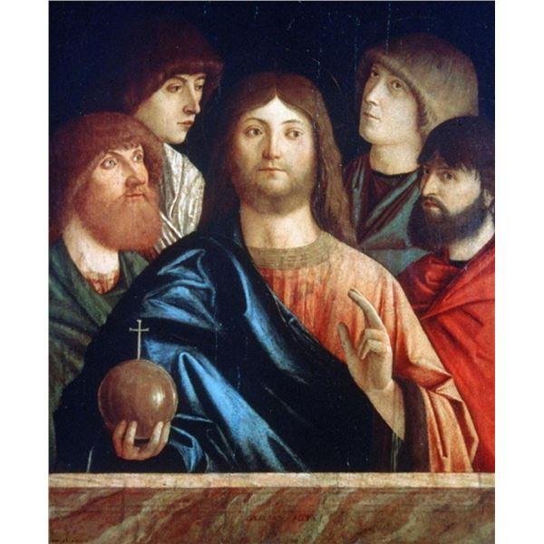 Vittore Carpaccio - Christ with Four Apostles