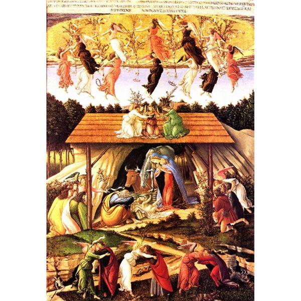 Sandro Botticelli -Nativity, 1500