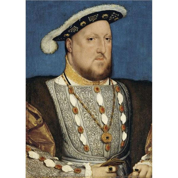 Hans Holbein - Portrait of Henry VIII of England