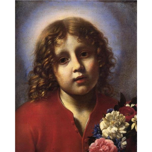 Calro Dolci - The Christ Child with Flowers