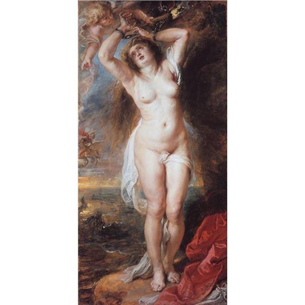 Sir Peter Paul Rubens - Perseus Freeing Andromeda